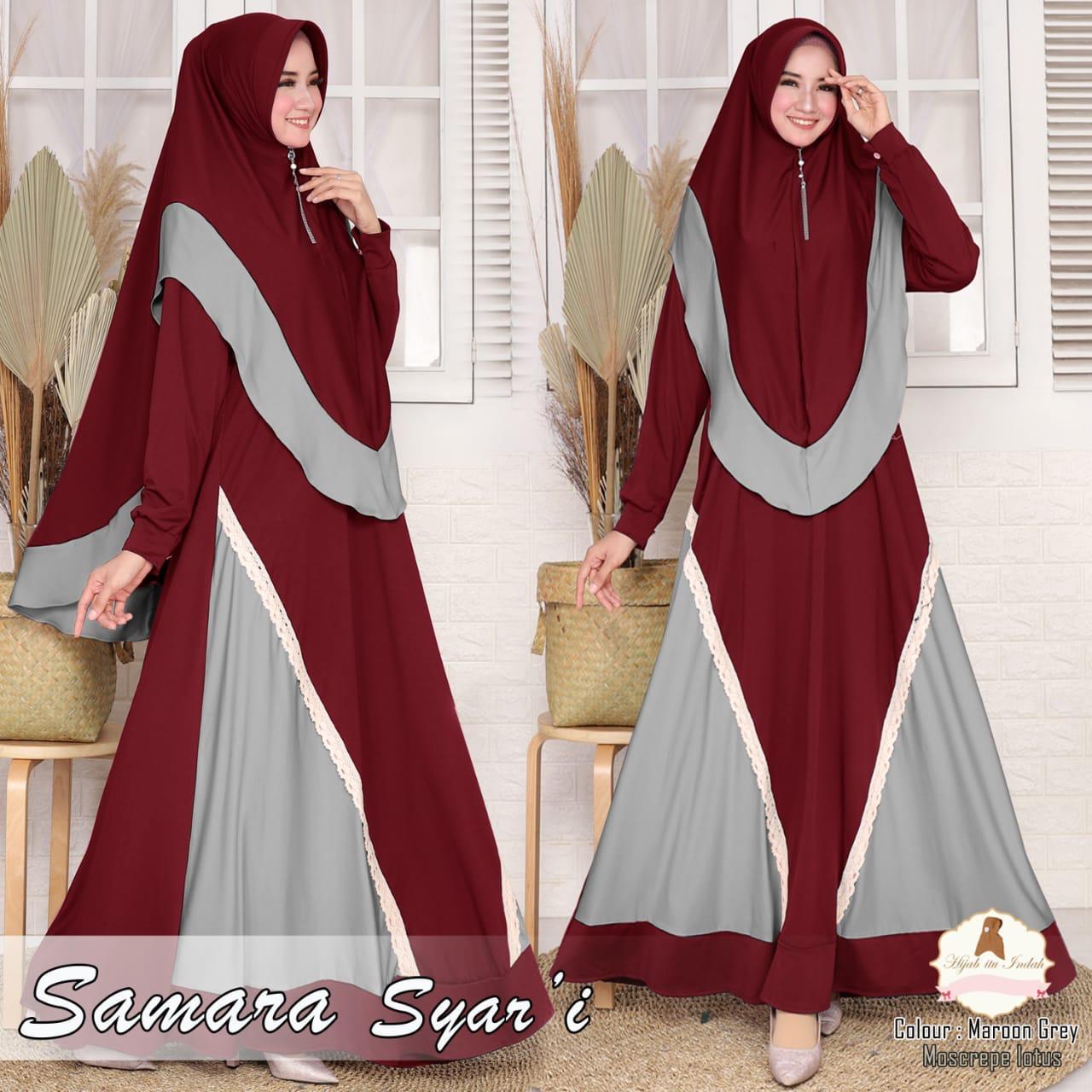 XYX Clothier ~ Gamis Syari SAMARA Fashion Baju Muslim Terbaru Baju Seragam Muslim