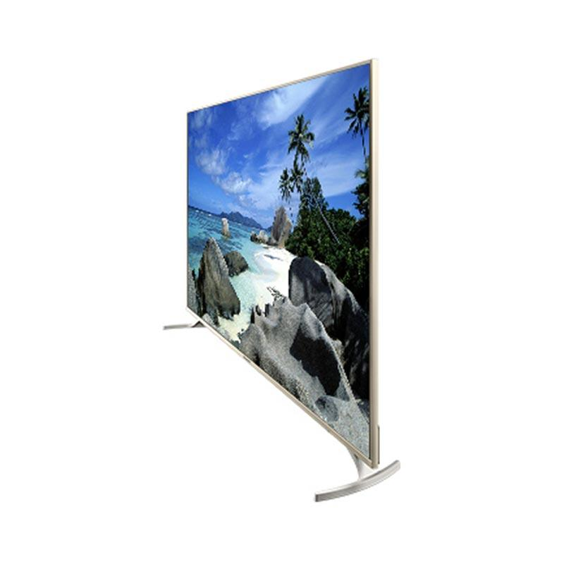 Coocaa 50G2 Android TV - Hitam [50 Inch/ 4K/ Metal Frame]