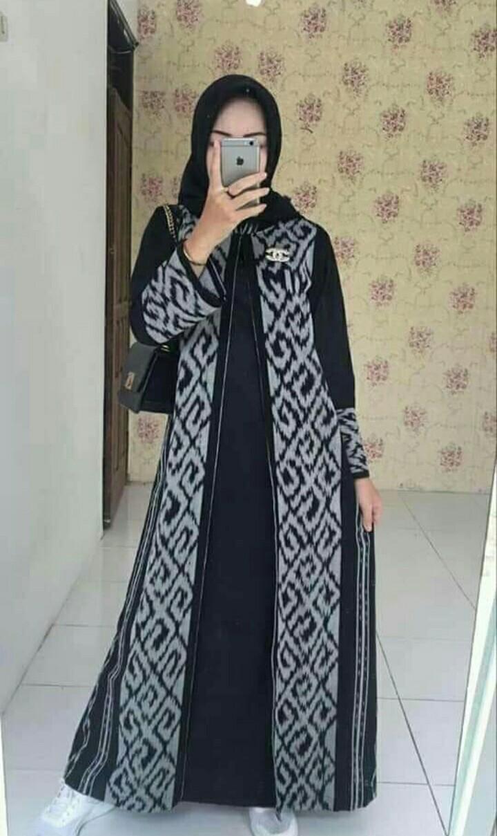 Gamis Tenun Model Cardigan Membeli Jualan Online Baju Muslim Jumpsuit Dengan Harga Murah Lazada Indonesia