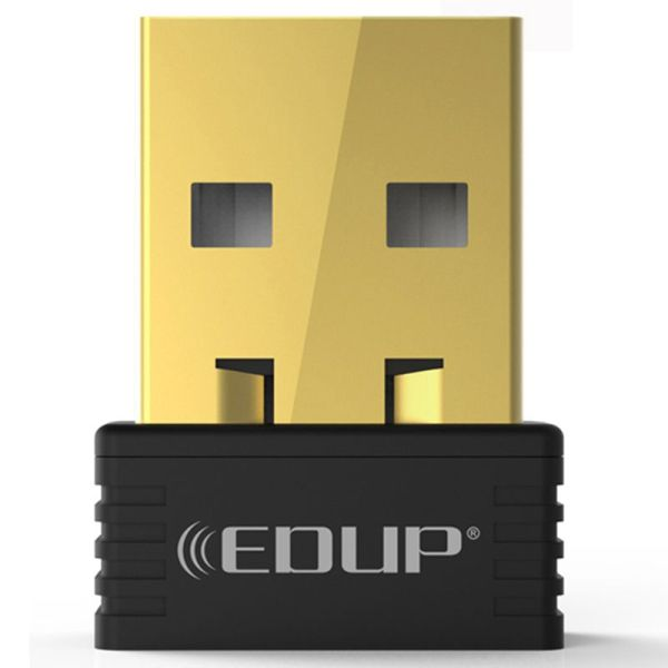 Giá EDUP mini usb wireless wifi adapter 150mbps wi-fi receiver 802.11n usb ethernet adapter network card Support Windows Mac for PC