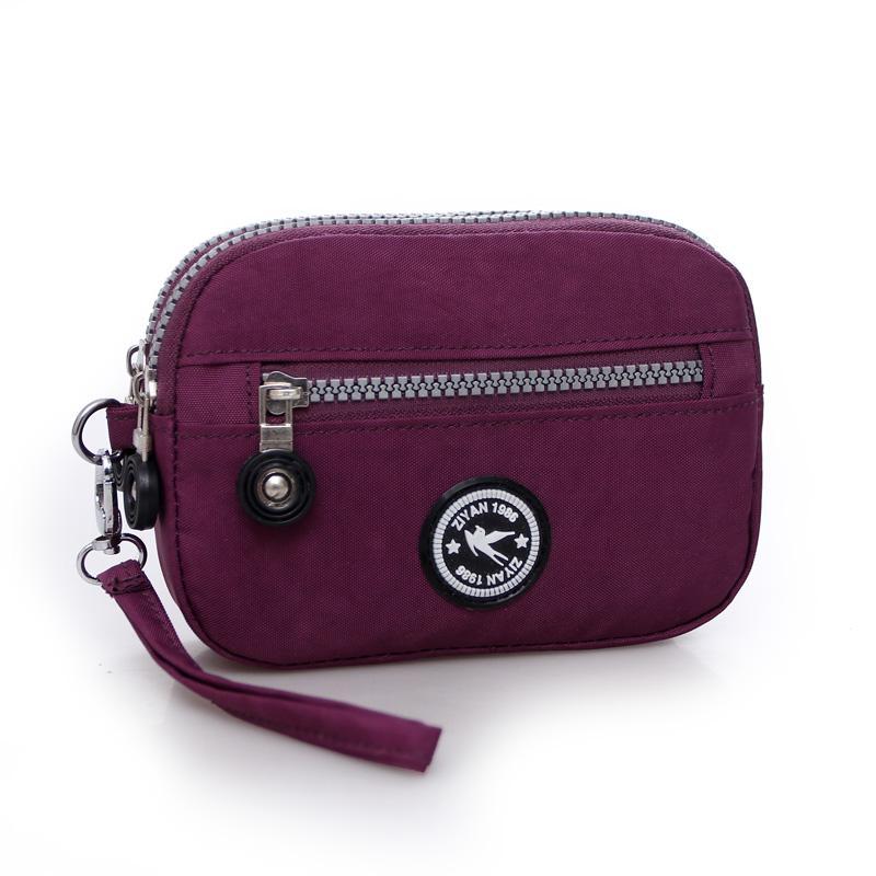 [Setiap Hari Harga Spesial] model baru mini Dompet tas ponsel kain kanvas tas tangan tas kain Oxford super Q Gaya Korea tas wanita