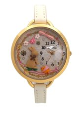 Harga Termurah Mini Watch Mn 894 Women Putih Kulit Jam Tangan Analog