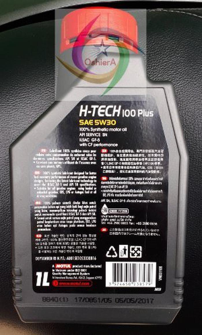 TERBARU Oli Mobil Motul H Tech 100 Plus 5W 30 1L Limited