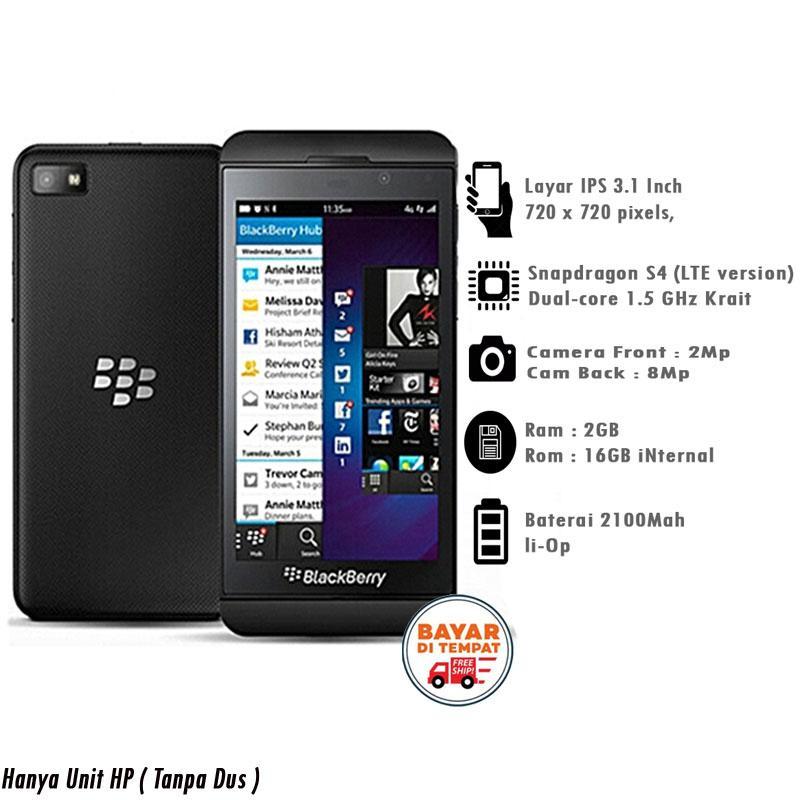 Blackberry Z10 4G LTE - 2GB/16GB - Blackberry OS 10