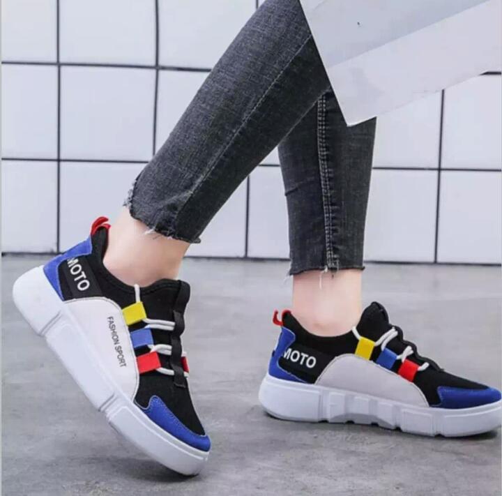 Sepatu Wanita  Sneaker Skate Shoe  Yamamoto YHH-11