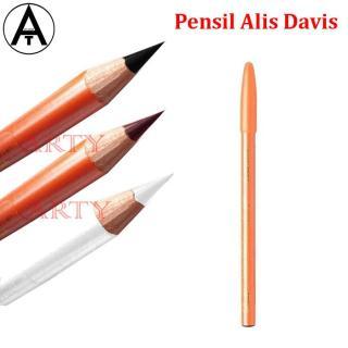 BPOM Pensil Alis DAVIS - Drawing Eyebrow Pencil HITAM COKLAT PUTIH thumbnail