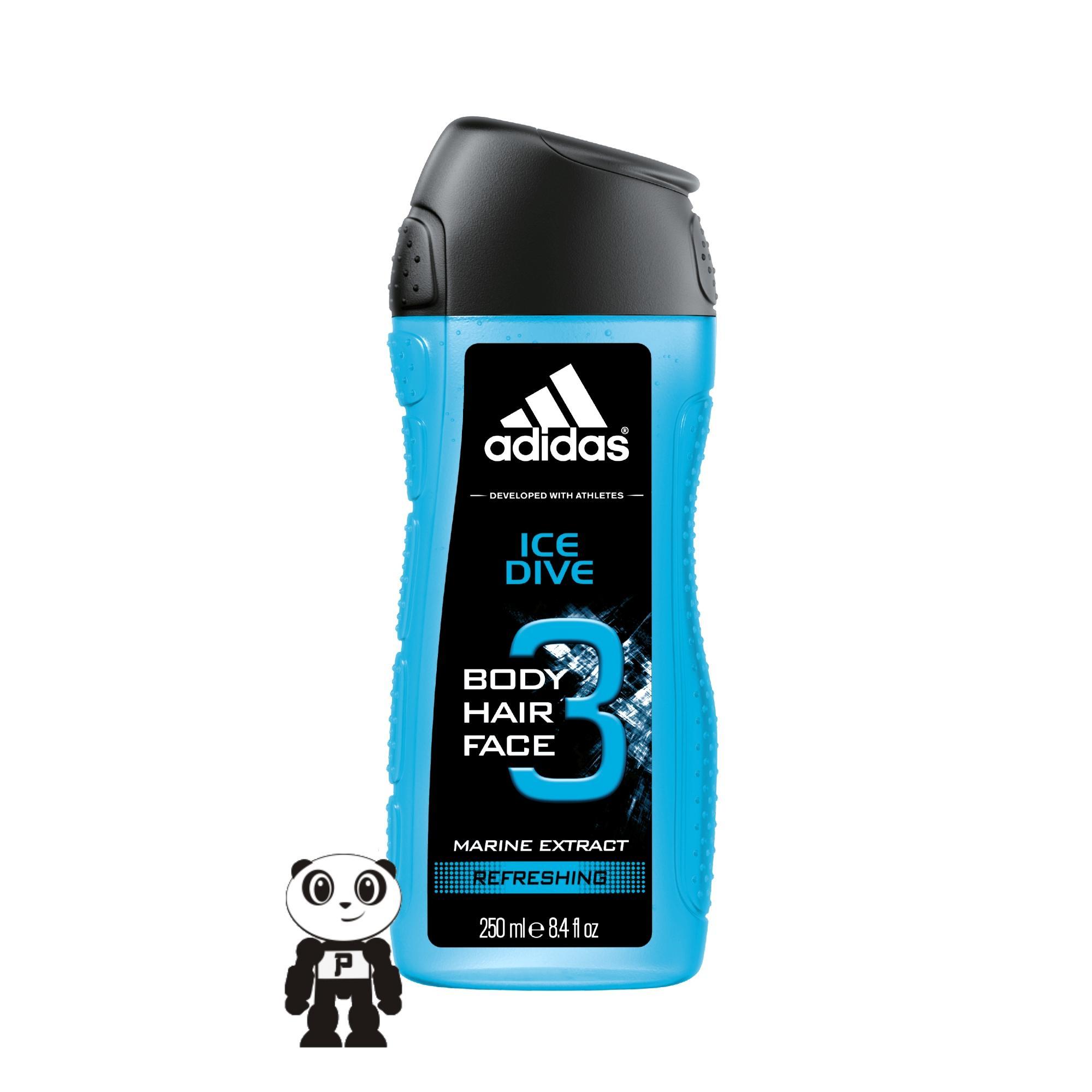 Adidas Body Hair Face Sabun Mandi Pria 250ml By Panda Elektronik.