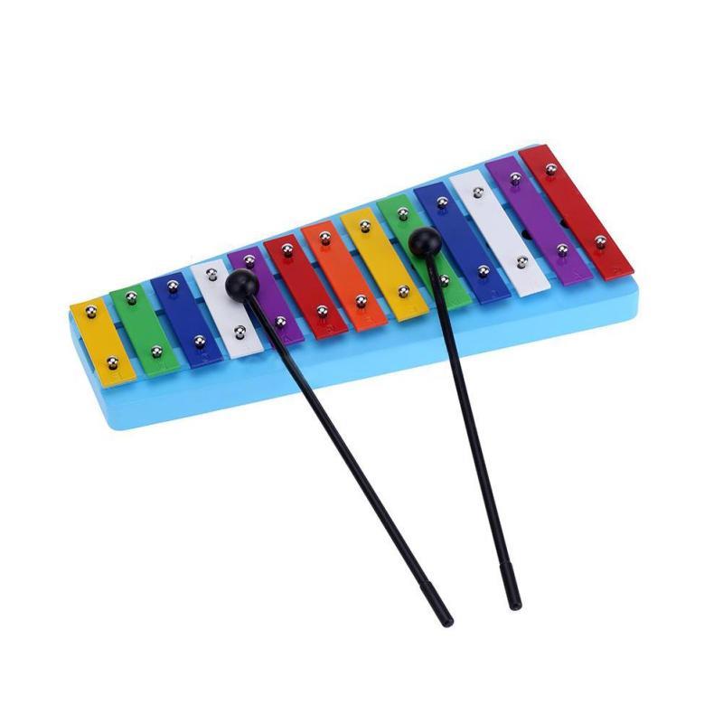 WangWang 13 Màu Kid Glockenspiel Đàn Xylophone Note của Giáo Dục Nhịp Điệu