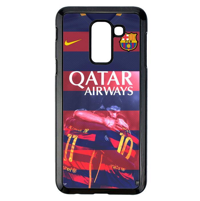Casing For Samsung Galaxy A6 Plus 2018 BARCA Qatar Airways Football Club Team L1979