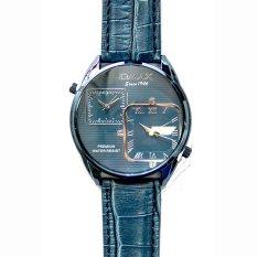 Omax Jam Tangan Pria Kulit Dalam Biru