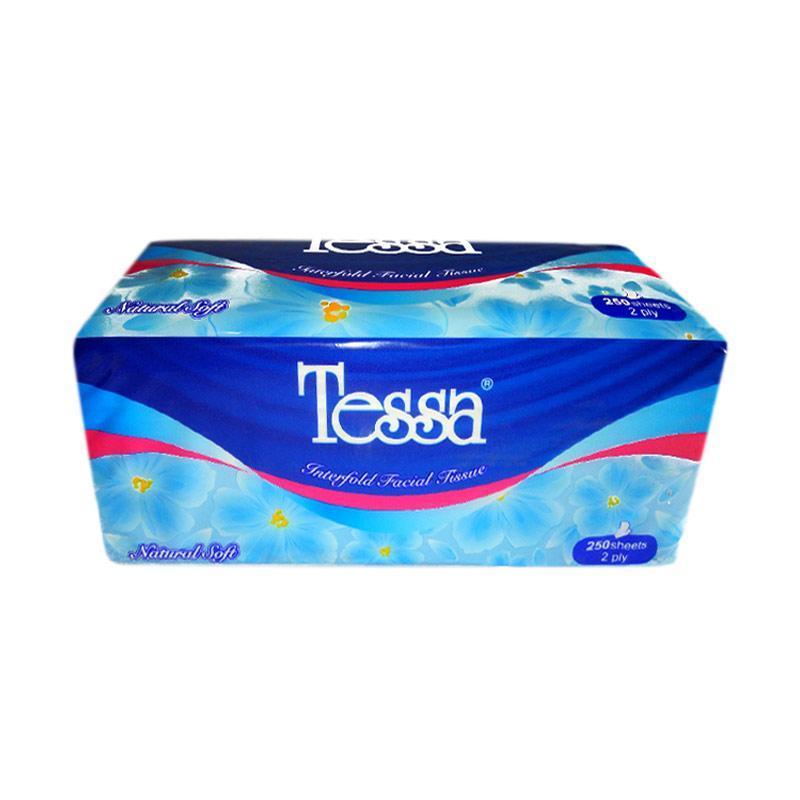 Tessa Natural Soft Tissue [250 Sheets/ 2 Ply]