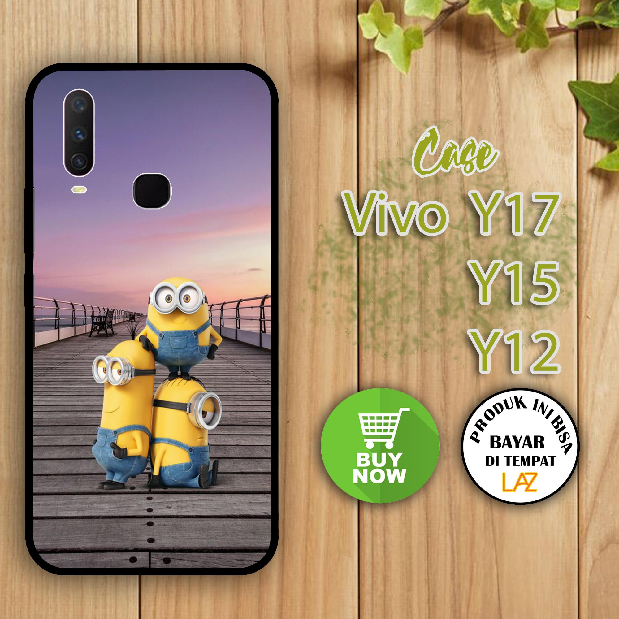 Casemurah Case Vivo Y12 Y15 Y17 Fashion Case Minion 0001
