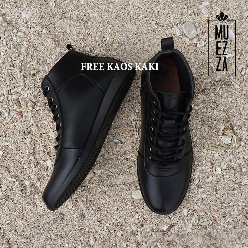 DSH Sepatu Boots   Sepatu Boot Kerja Muezza Storm Pria Free Kaos Kaki 3af2cf132e