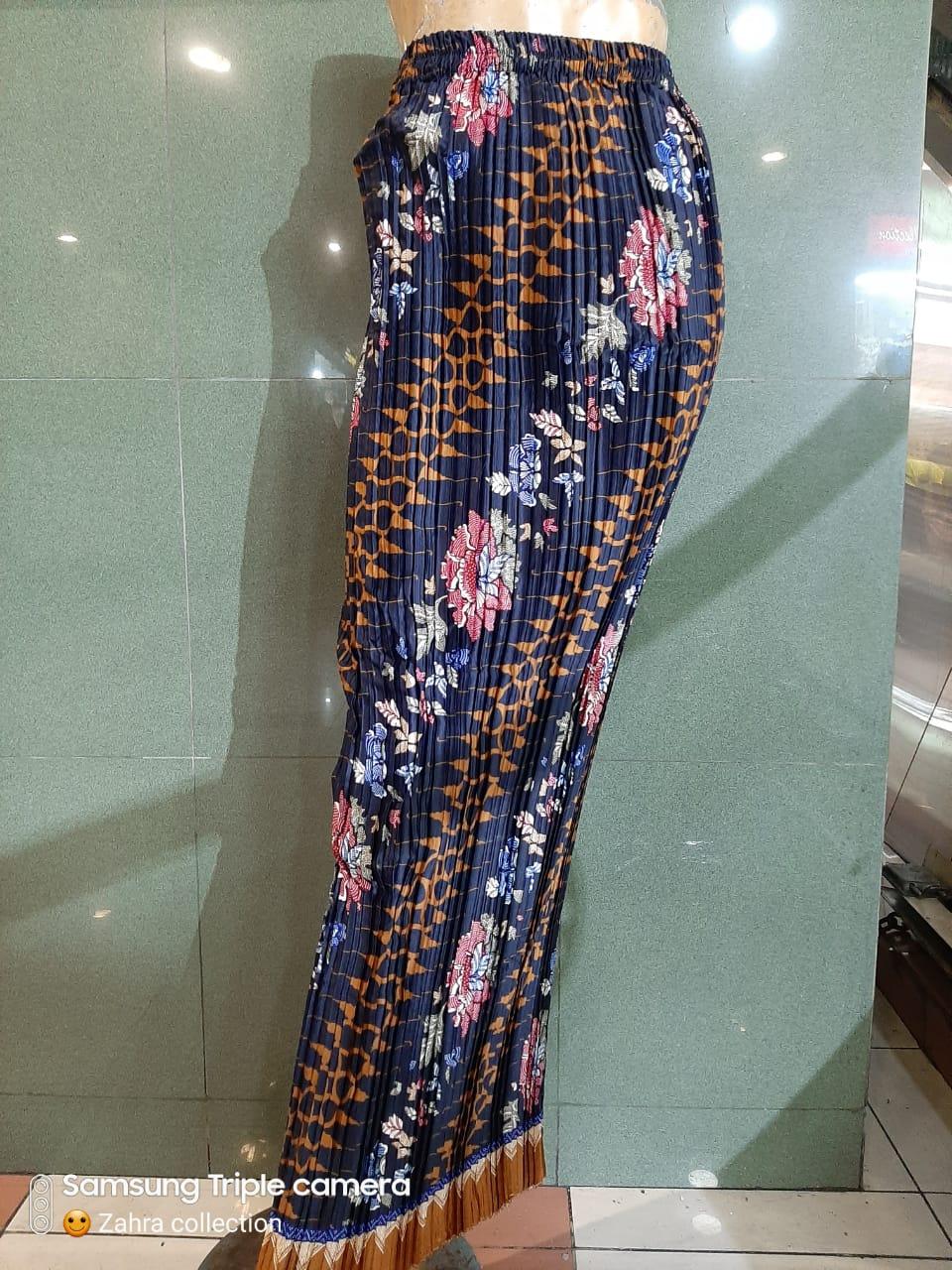 Glow Collection Lesita Rok span plisket panjang batik wanita jumbo long skirt Fit to XXL