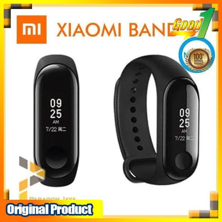 Xiaomi Mi Band 3 / Smartband Smartwatch Xiaomi Miband 3 NFC Original smartphone android smartwatch jam hp jam smartwatch jam pintar jam android