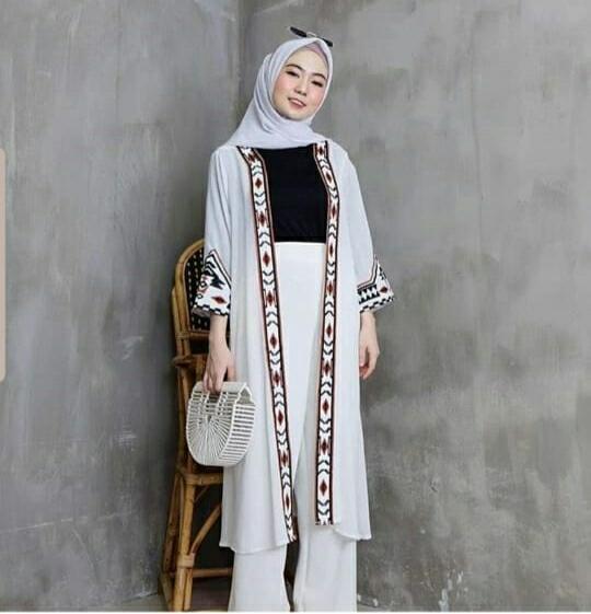 MOON MOIS CLOTHING CARDIGAN ETNIK TRIBAL ETHY / Blouse Wanita / Kemeja Wanita / Kaos Wanita / Tunik Wanita / Dress Wanita / Celana Wanita / Setelan Wanita / Baju Muslim / Gamis Wanita / Jumpsuit Wanita / Jaket Wanita / Sweater Wanita / Atasan Muslim