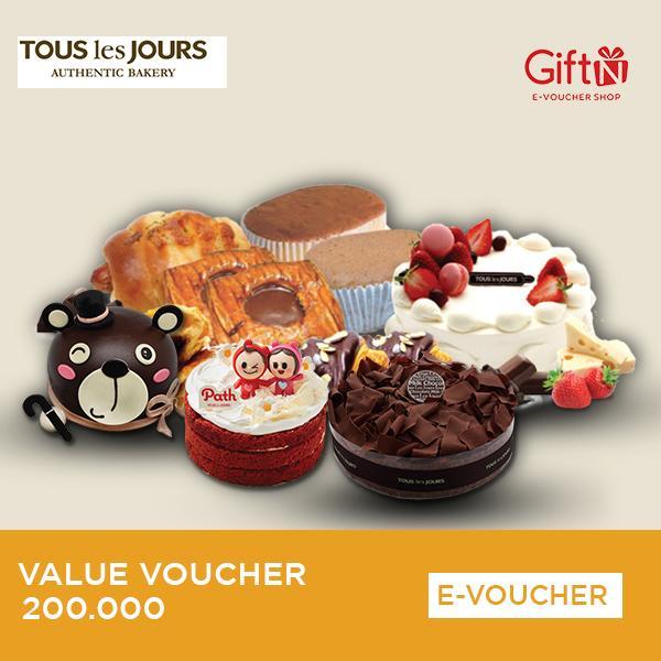 Tous Les Jours Value Voucher 200.000 By Giftn.