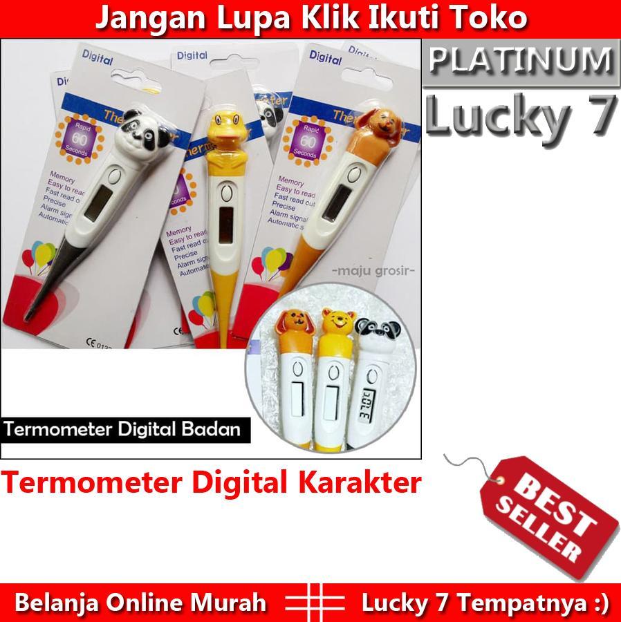 Paling Laris Termometer Digital Anak Karakter Unik Dan Lucu 1 Pcs Random By Lucky 7.