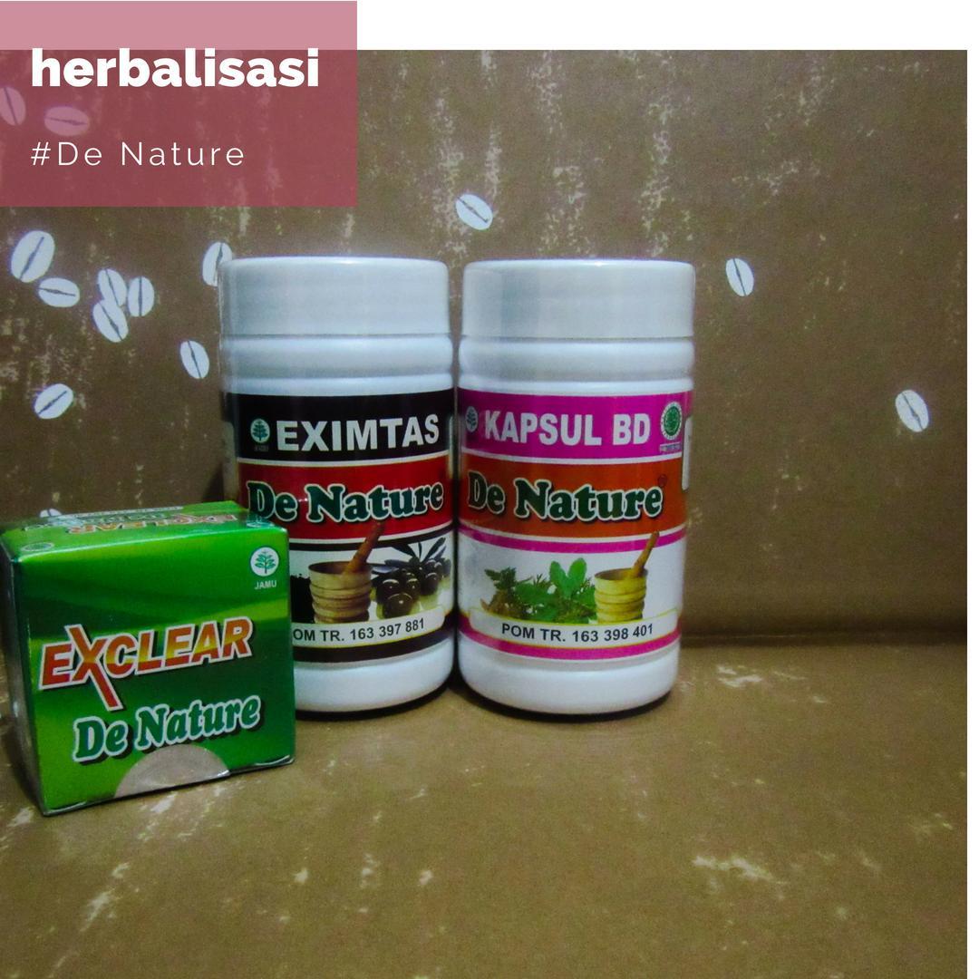Obat Herbal Gatal Eksim Kering Dan Basah De Nature Paket Eximtas Kapsul Bd Bonus Salep Exclear By De Nature Olshop.