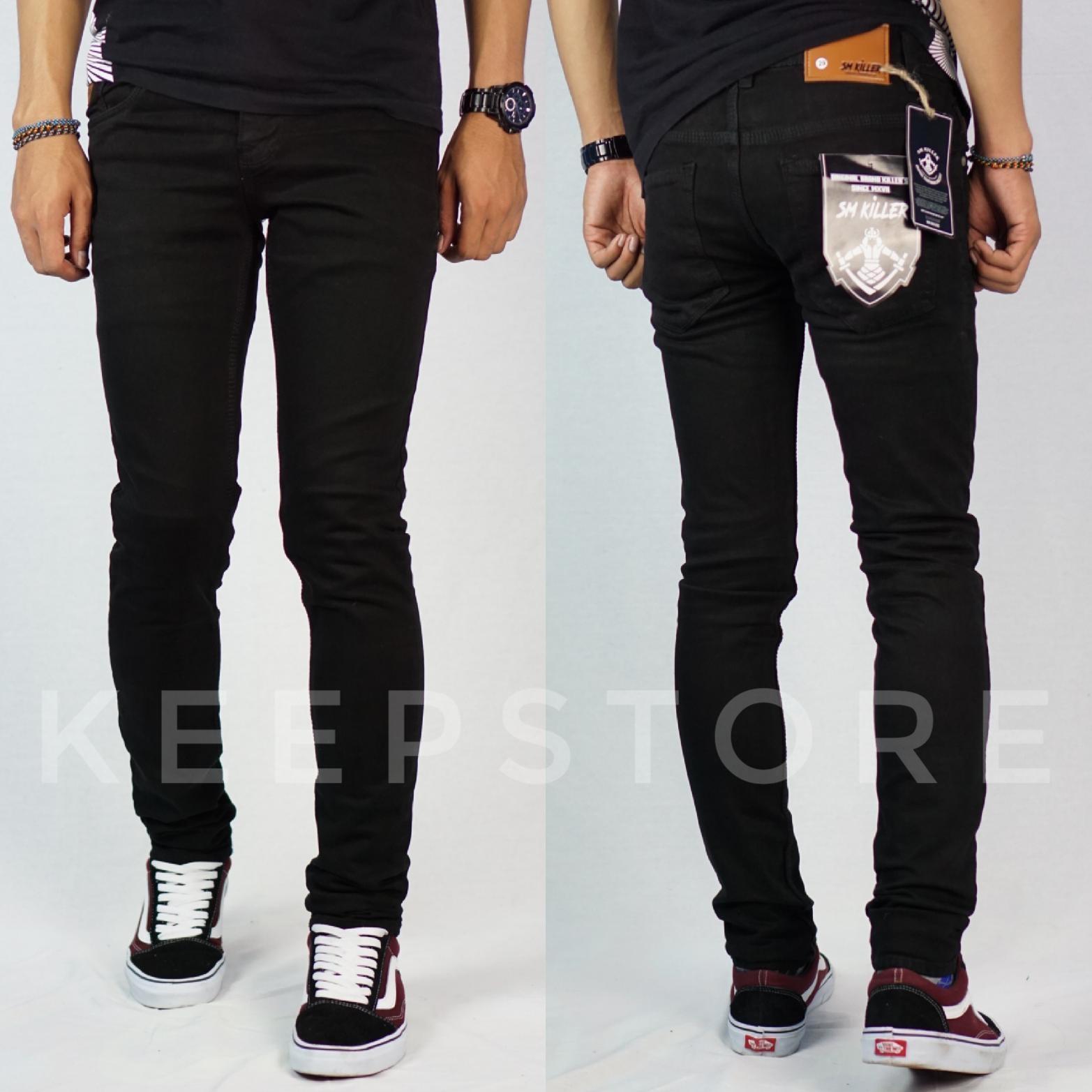 Celana jeans pria / jeans skinny / slimfit / pensil (sm killer)