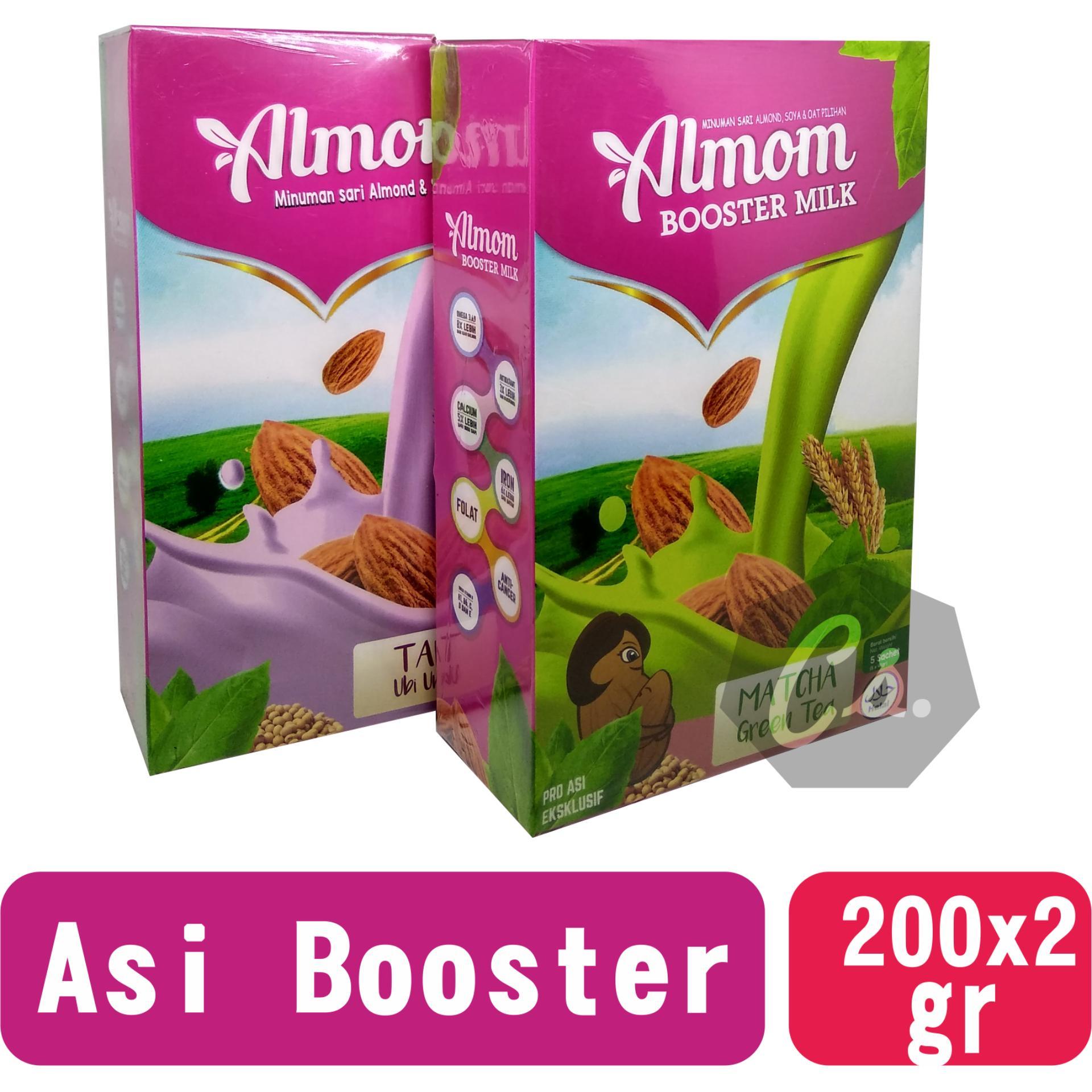 2 box Almom Asi Booster / Susu Almond / Yummy's Almond Milk Powder