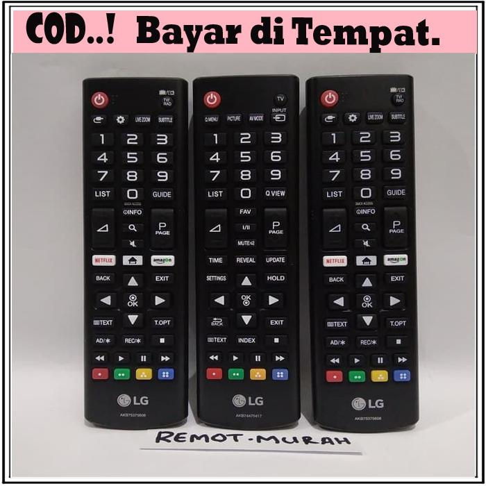 REMOT/REMOTE TV LCD/LED LG KW SUPER Pasti Konek