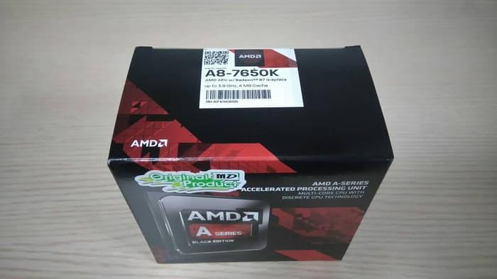 Best Seller Processor AMD A8 7650K Socket FM2+ BOX