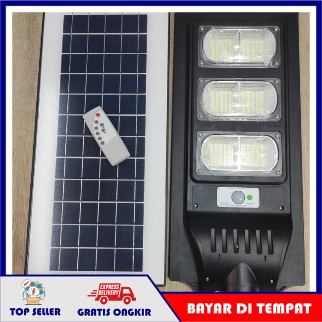 PJU Solar Lampu Jalan Led 120W 120 Watt