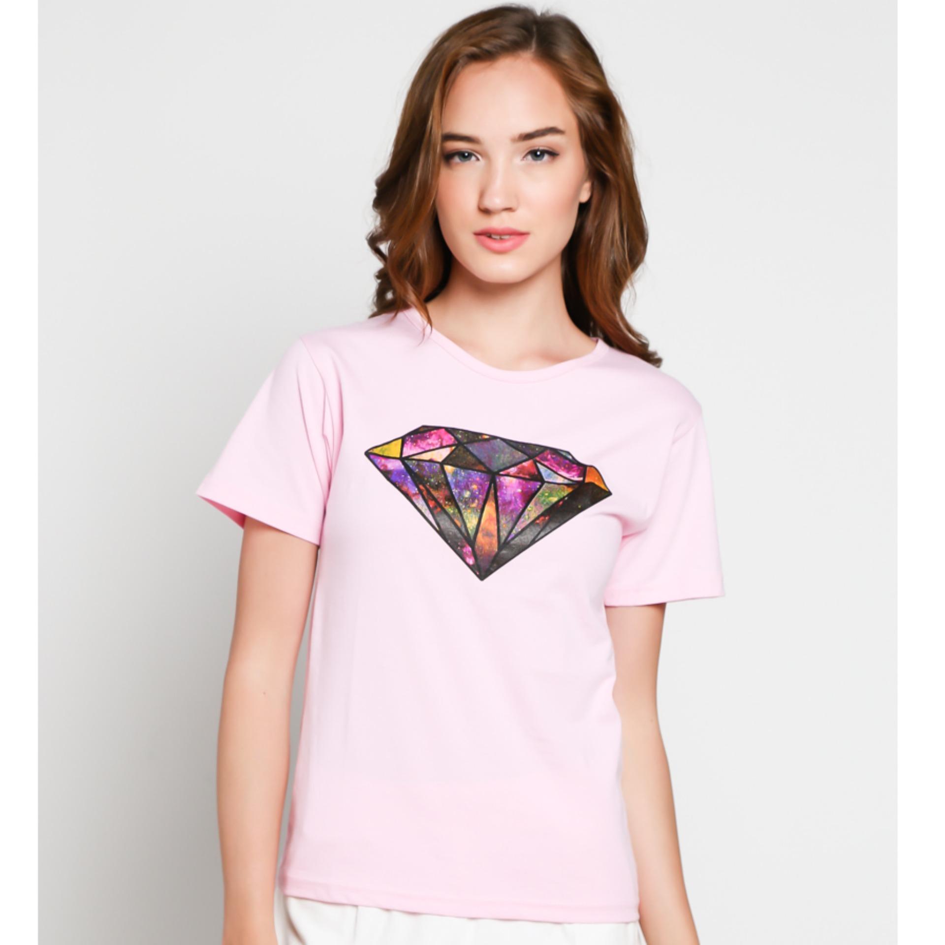 JCLOTHES - Tumblr Tee Tshirt Diamond Kaos Wanita