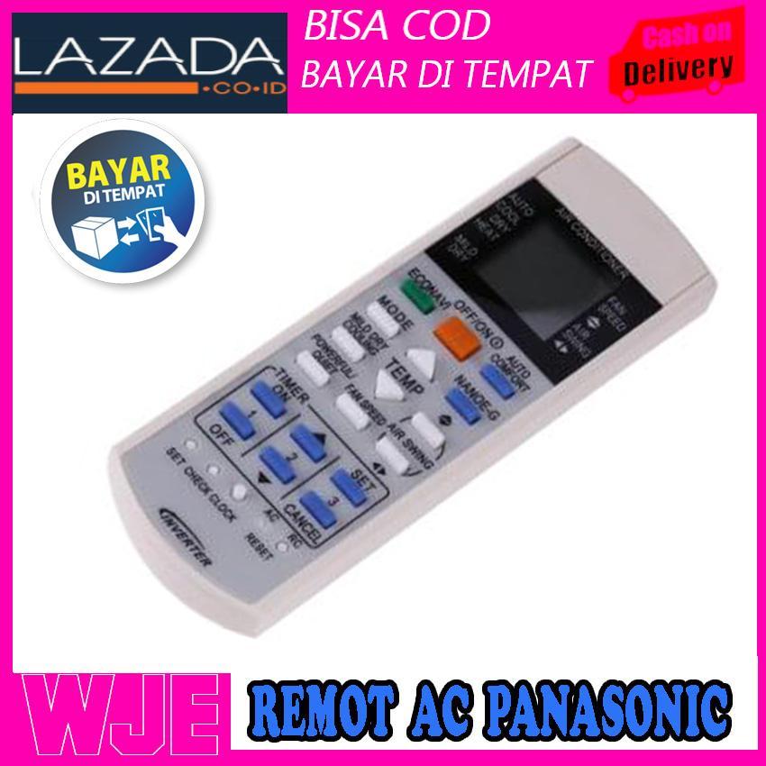 REMOT AC PANASONIC / Panasonic Remot Control AC Inverter - Putih