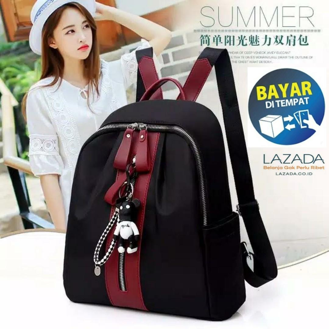 MGS 15 TAS RANSEL MIKAYLA BACKPACK FASHION RANSEL IMPORT FASHION TERMURAH  BEST SELLER BAYAR DITEMPAT ( 13d1436cf2