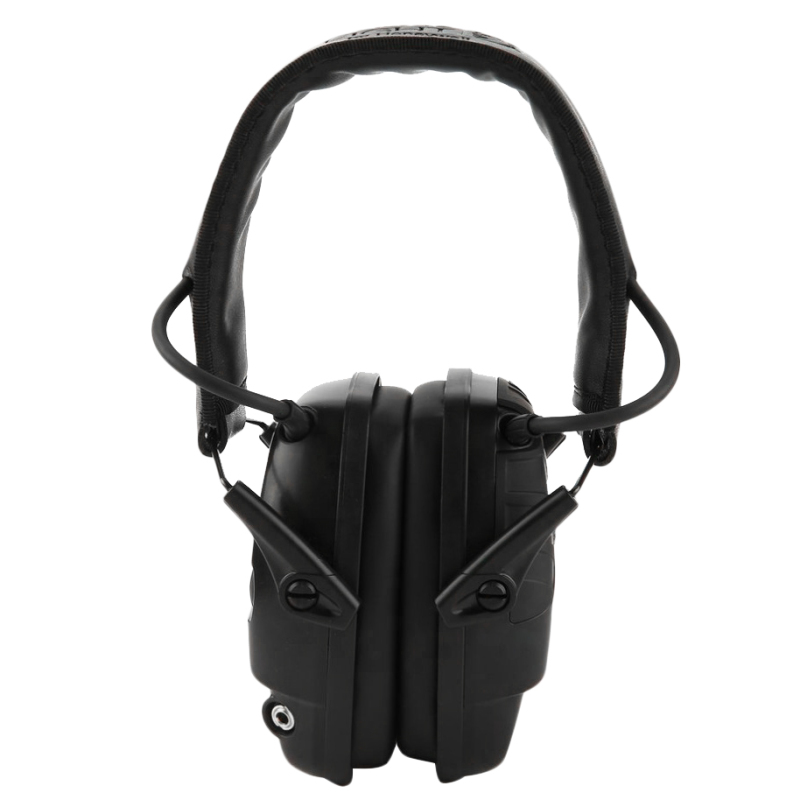 Electronic Hunting Ear Protection NRR22DB Sound Amplification Noise Reduction Ear Muffs Professional Hunting Ear Defender,Black