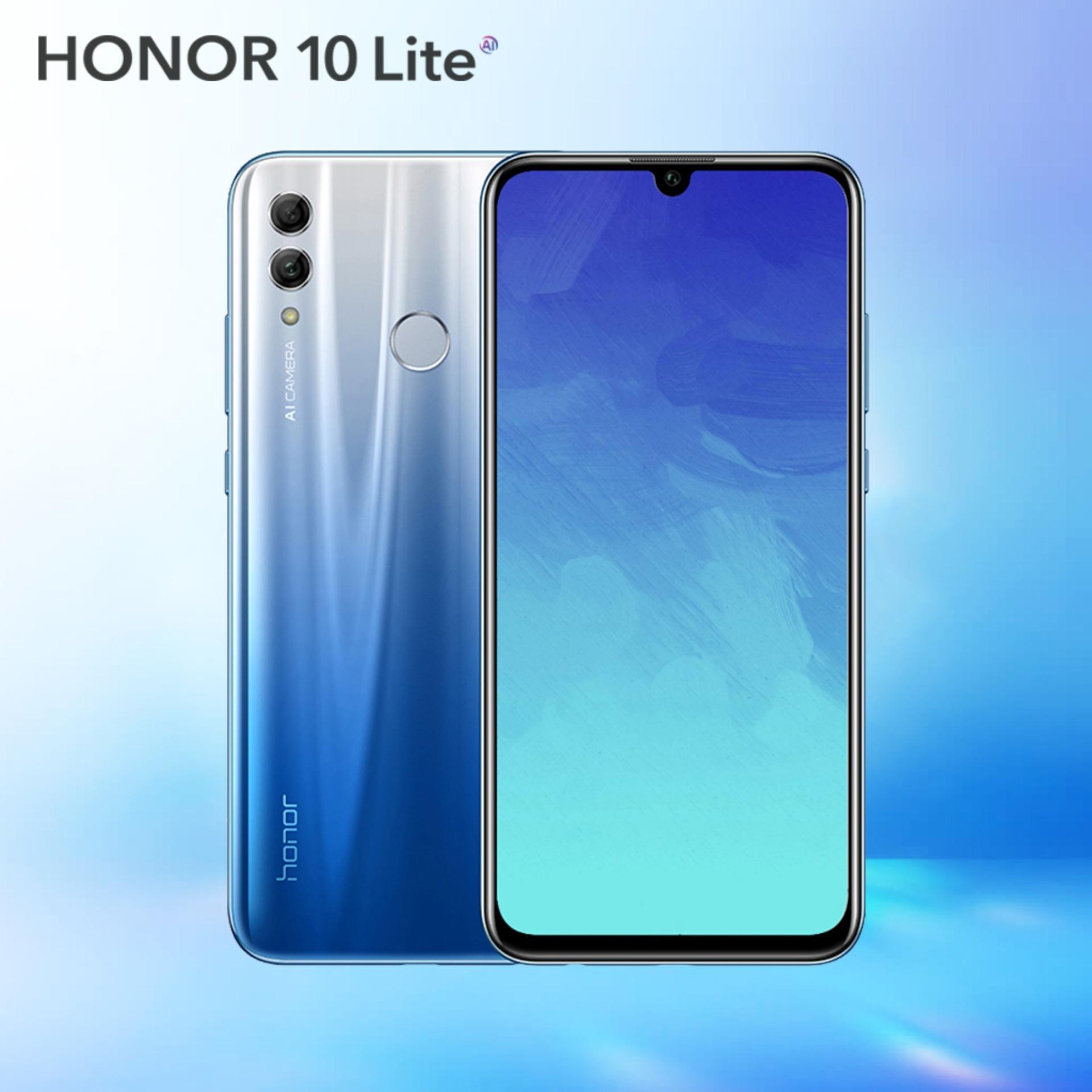 HUAWEI HONOR 10 LITE Handphone - 4GB/64GB Garansi resmi