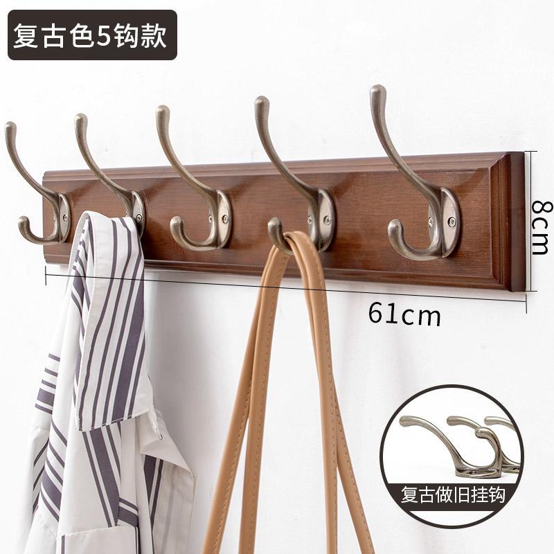 Clothes Hook Wall Hangers Creative Coat Hook Hallstand Wall Clothes Rack Bedroom Walls Door Entrance Clothes Hook