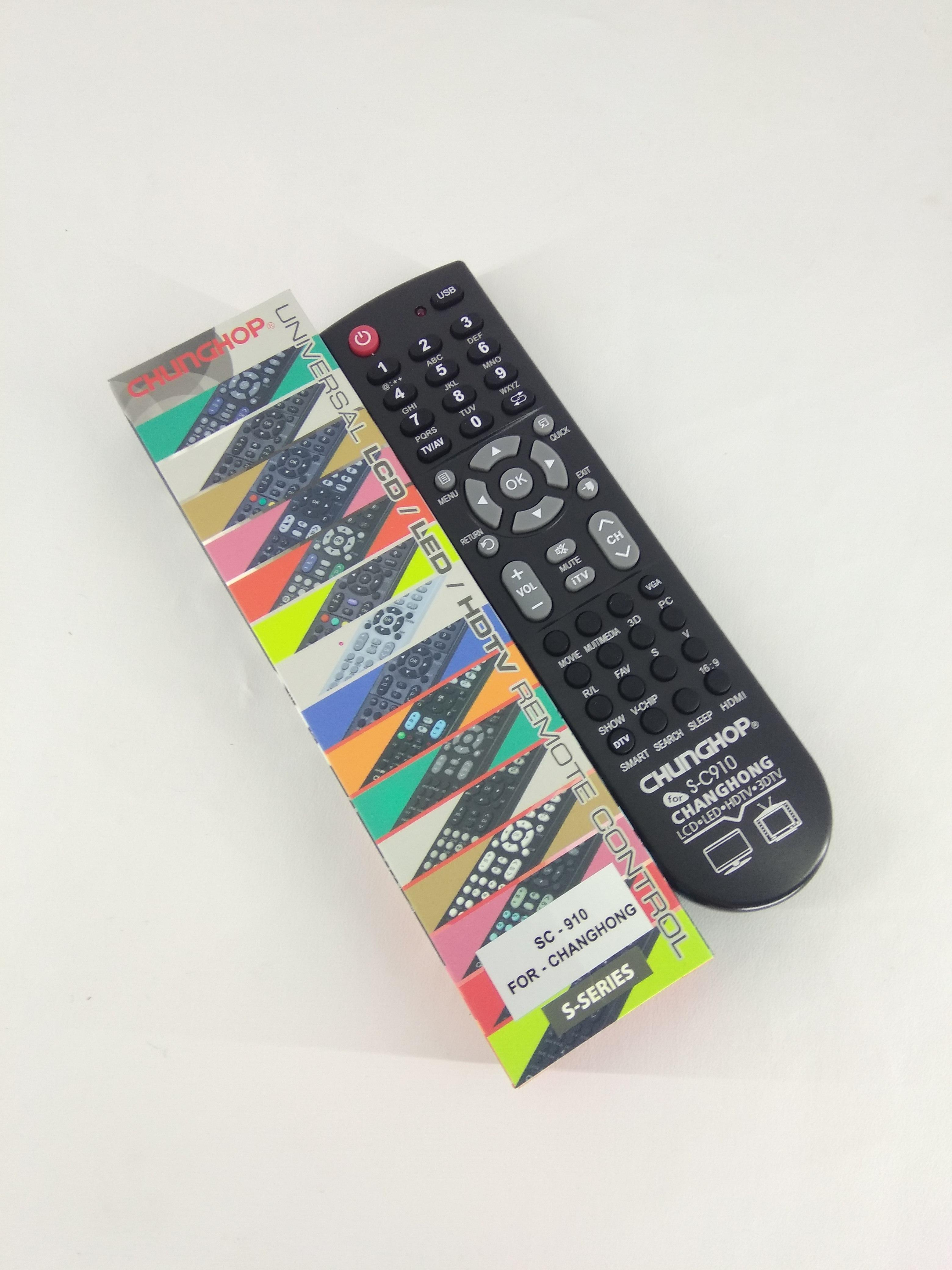 Remot Remote TV Changhong LCD LED Multi Universal