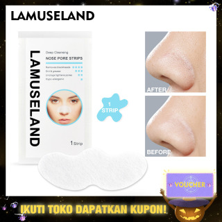 LAMUSELAND Deep Cleansing Nose Pore Blackhead Remover Strips Cleaner Facial Mask thumbnail