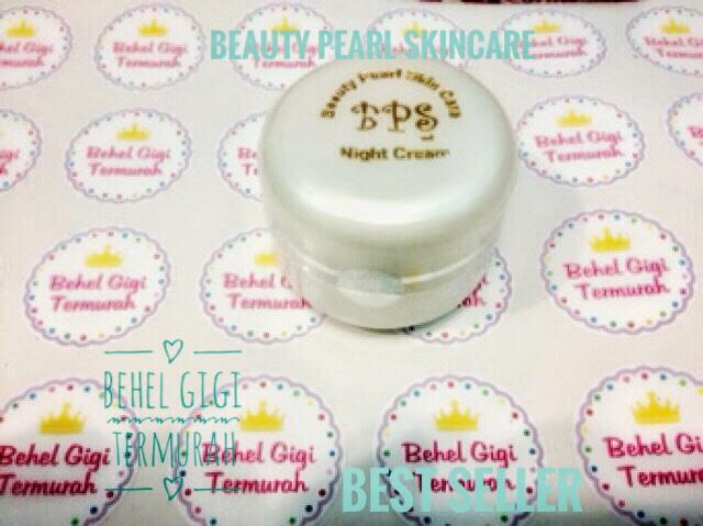 PROMO NIGHT CREAM / MLM BPS ERL / BEAUTY PEARL SKINCARE 30GR BESAR ORI HOLO - ShuhszTp