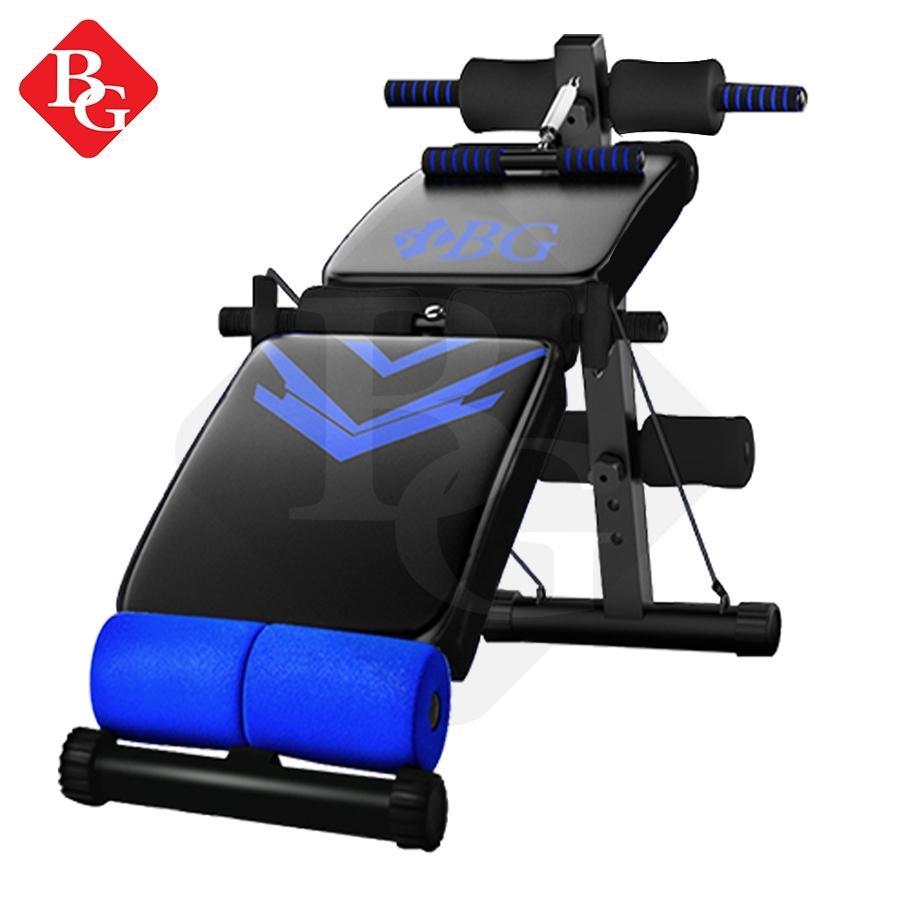 Bg Sport Sit Up Board Model 118(blue)-Alat Bantu Sit Up By Bg Sports.