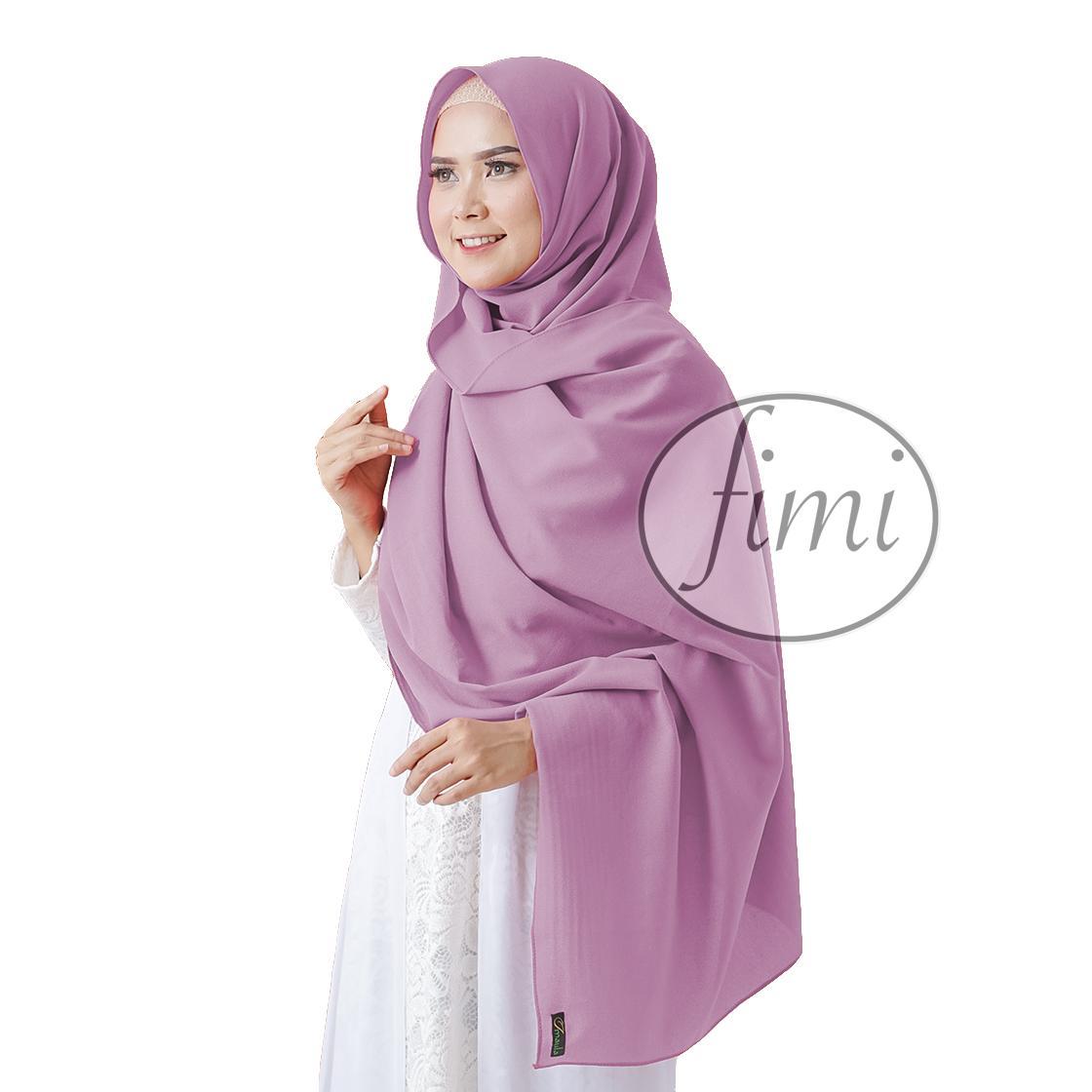 PASHMINA SABYAN DIAMOND 175 CM Fimi Jilbab Hijab Kerudung Pasmina Sabyan Panjang Polos 75 x 175cm Model Terbaru