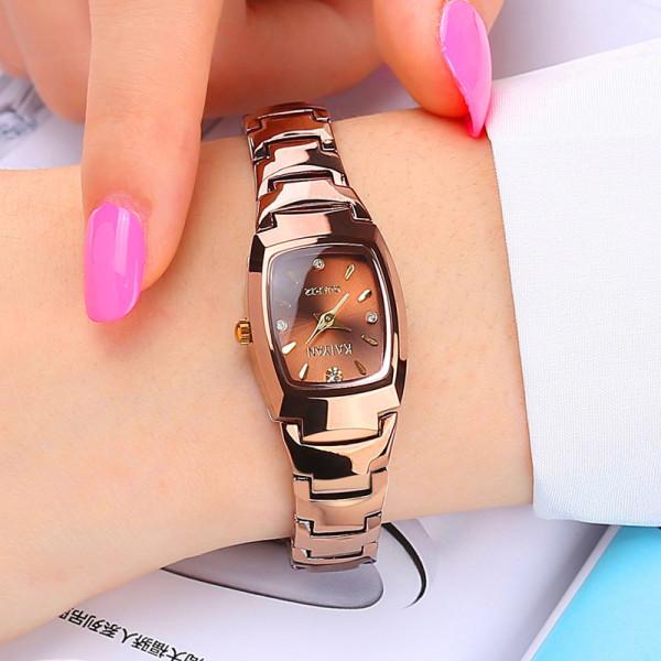 Nơi bán Đồng hồ nữ thương hiệu nổi tiếng Đồng hồ nữ thời trang khí chất đơn giản Đồng hồ nữ không thấm nước Đồng hồ nữ bằng thép vonfram Đồng hồ nữ thạch anh