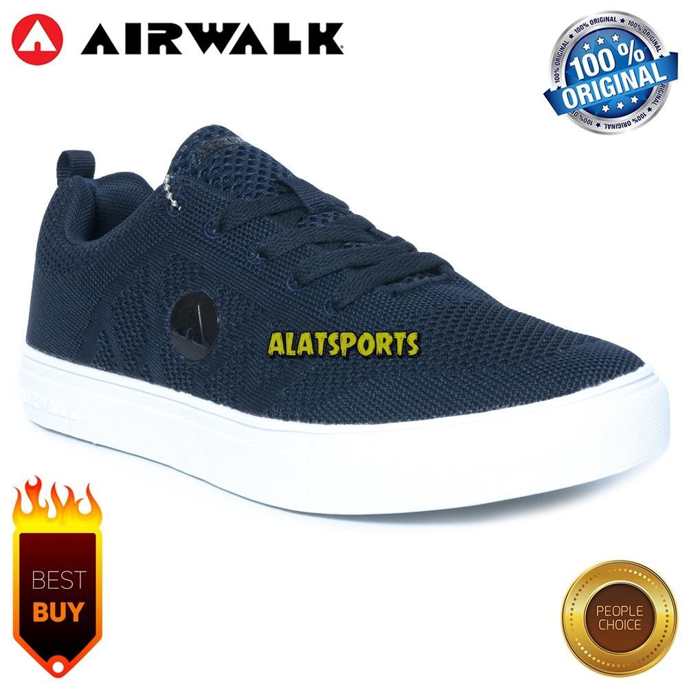 Sepatu Sneaker Pria Airwalk Kylon AIW18CM0635N - Navy - ORIGINAL 300e56cbe4