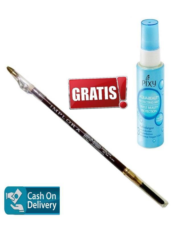 Pixy Aqua Beauty Mist 60ml Free Implora Pensil Alis Coklat