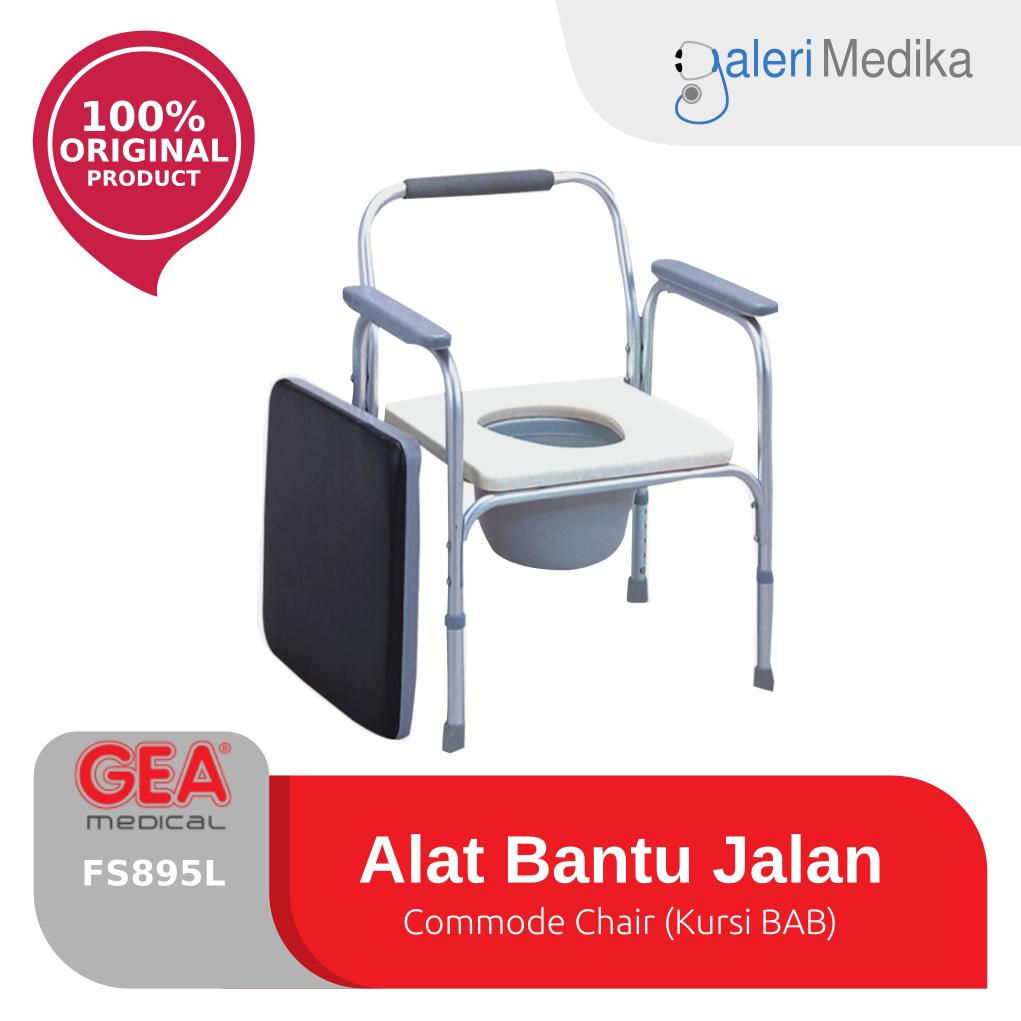 Gea Commode Chair (kursi Bab) - Fs895l / Fs-895l By Galeri Medika.