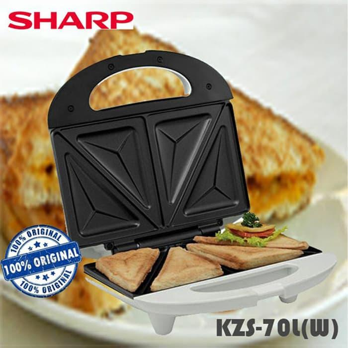 Toaster Sharp Kzs-70l(w) Pemanggang Roti Garansi Sharp By Bl Electrik.