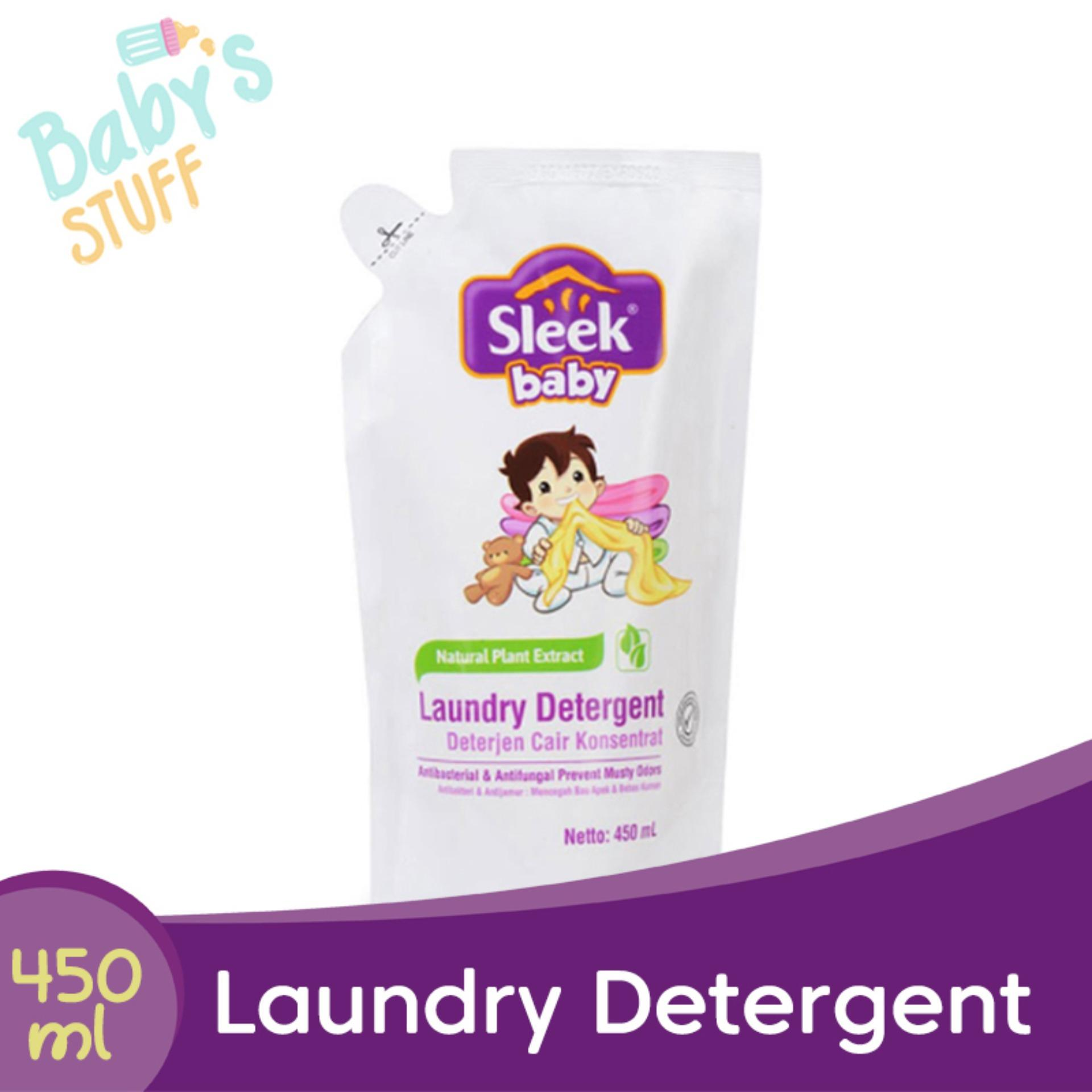 Sleek Baby Laundry Detergent Refill 450 Ml By Babys Stuff.