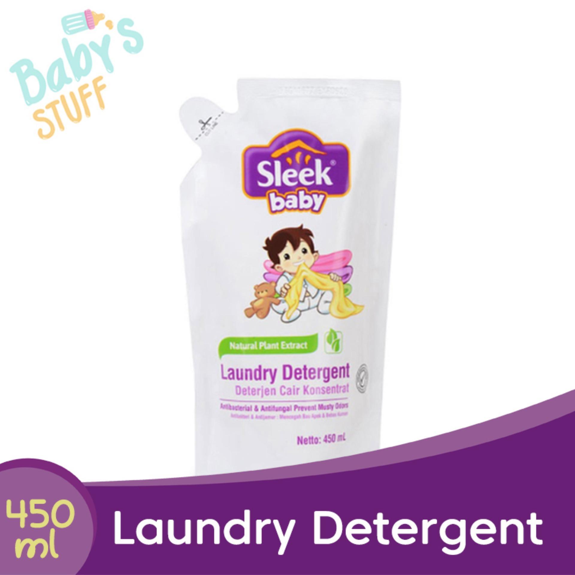 Sleek Baby Laundry Detergent Refill 450 Ml By Babys Stuff.