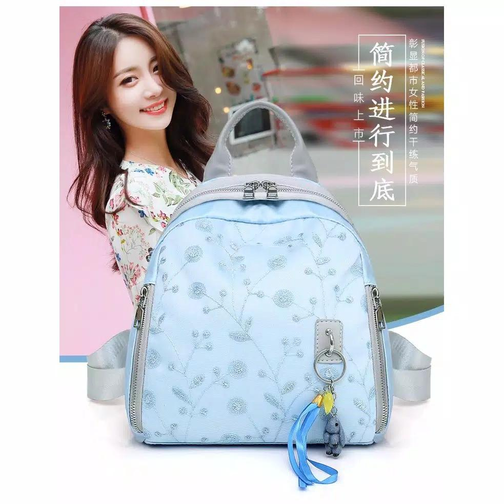 Backpack Ransel Tas Punggung ABG Remaja Wanita Import Korean CS-BF01