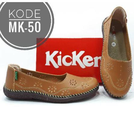 Sepatu wanita kickers sepatu wanita slip on kickers wedges kickers flat shoes kickers wanita loafer sepatu