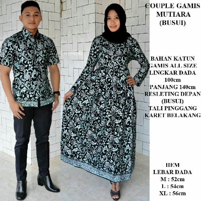 Jual Beli Koleksi Couple Batik Busui Sarimbit Batik Busui Gamis Batik Prada Rskc Harga Rp 259.700