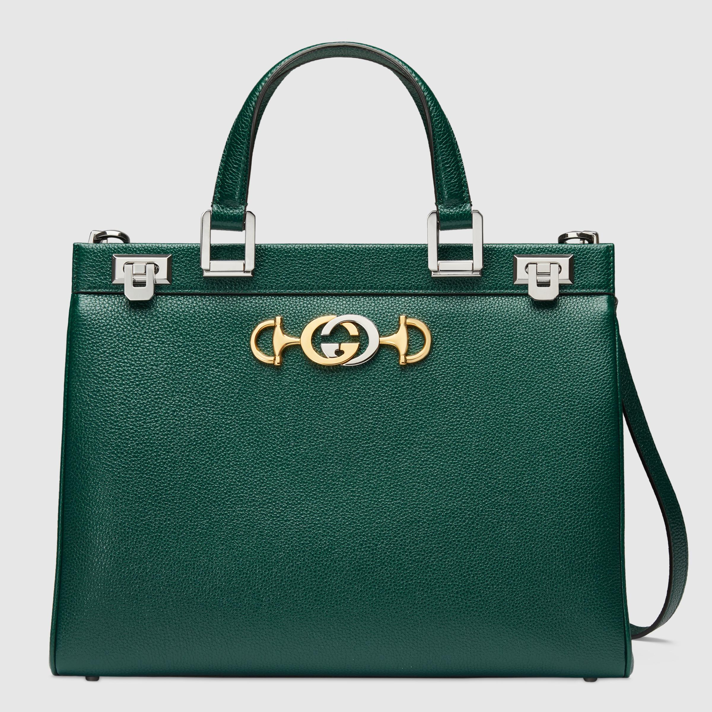 c64624c4cfd9 Tas gucci zumi hobo with handle grained calfskin original leather